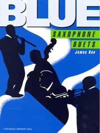 Blue saxophone duets image